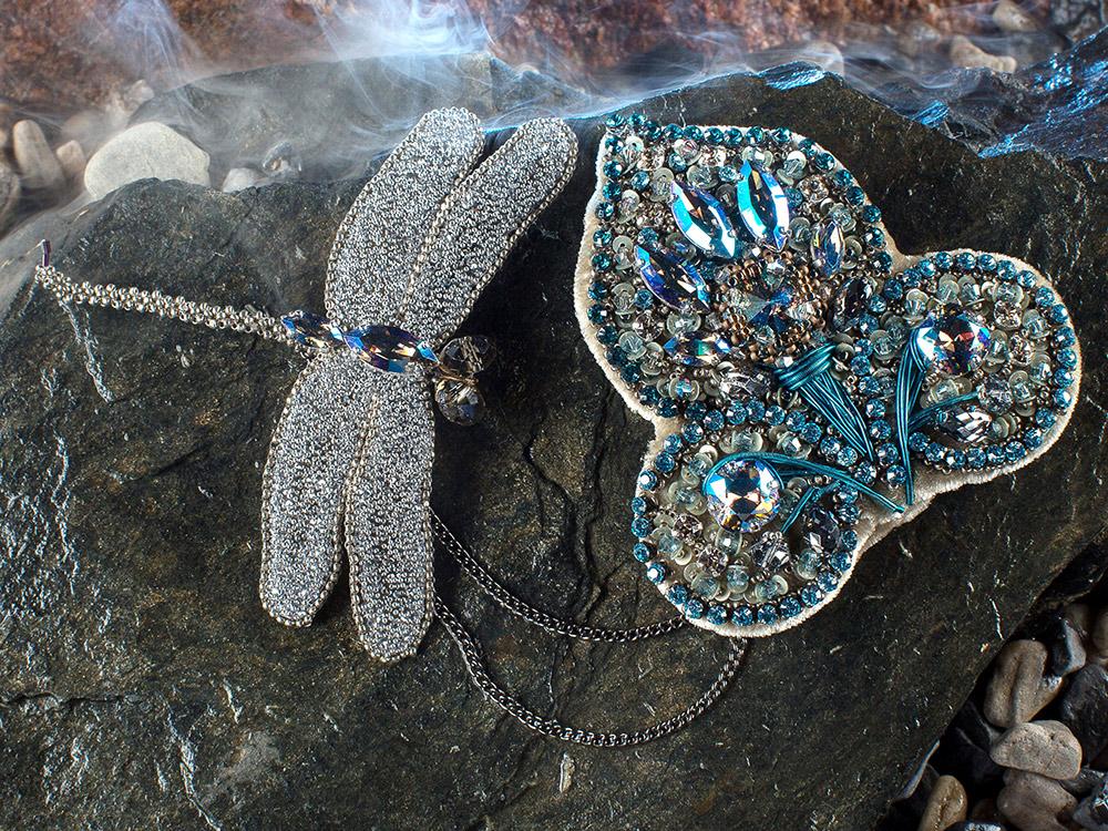 Шатлены — это украшения в виде цепочки с зажимом