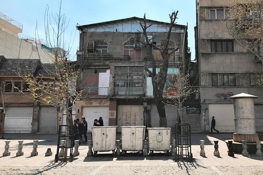 А вот так выглядит центр Тегерана
