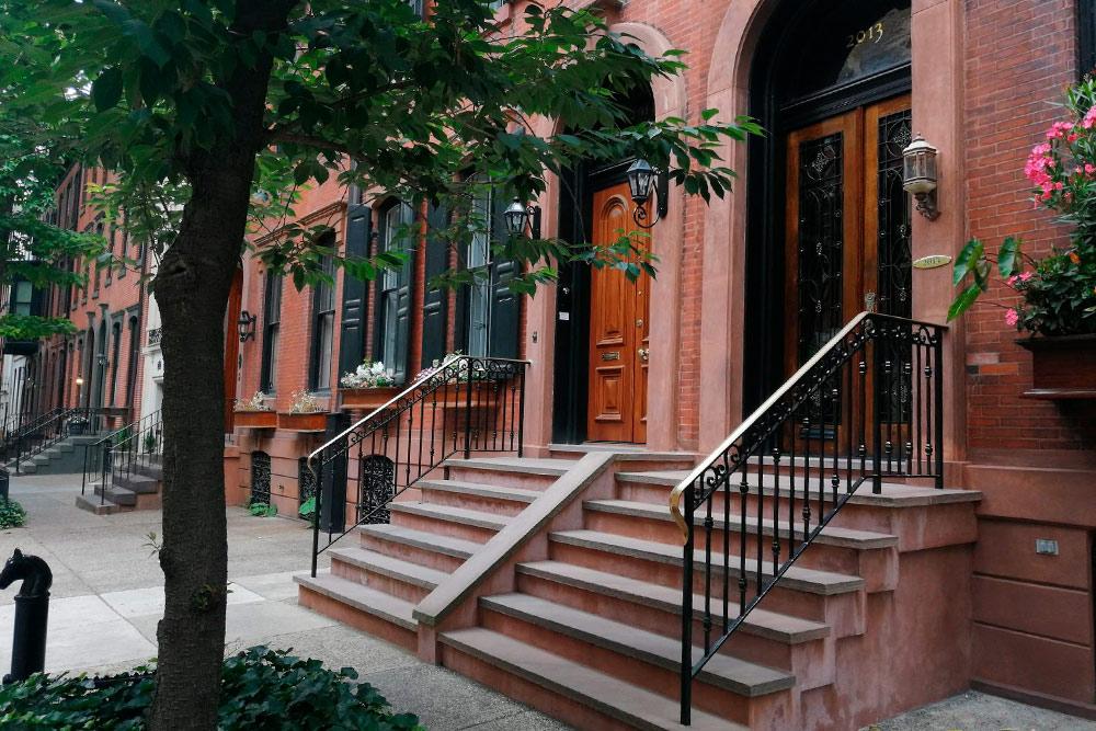 Так выглядят улицы Филадельфии в престижном районе Риттенхаус-сквер