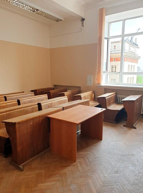 Аудитория на физическом факультете