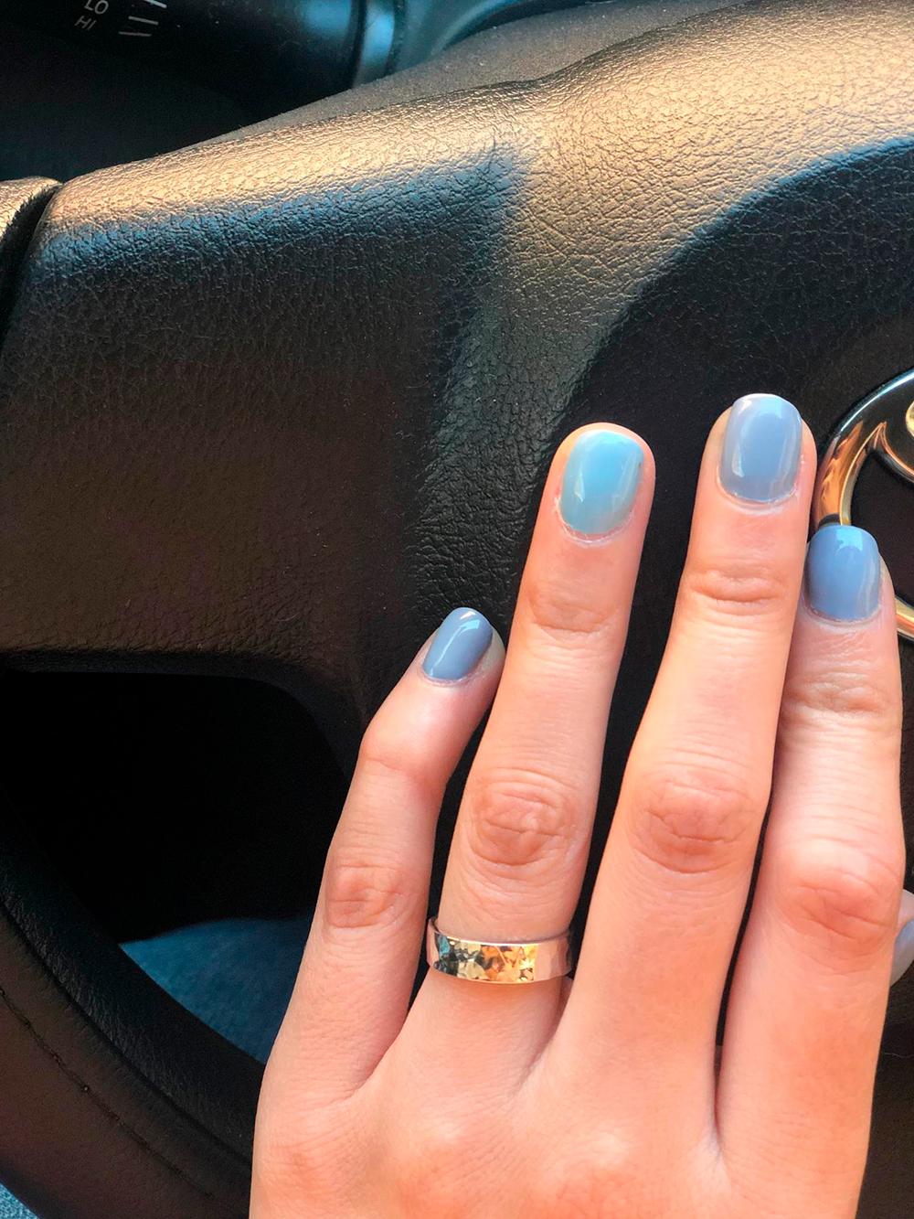 Серебряные кольца мы делали на заказ