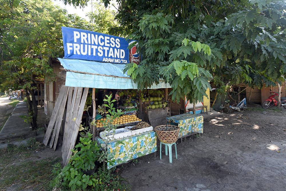 Фруктовая лавка моей знакомой Джейн в деревне Капутиан
