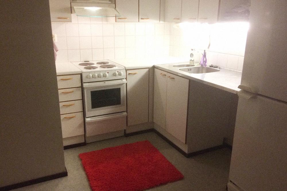 Такие небольшие кухни были практически во всех студенческих квартирах