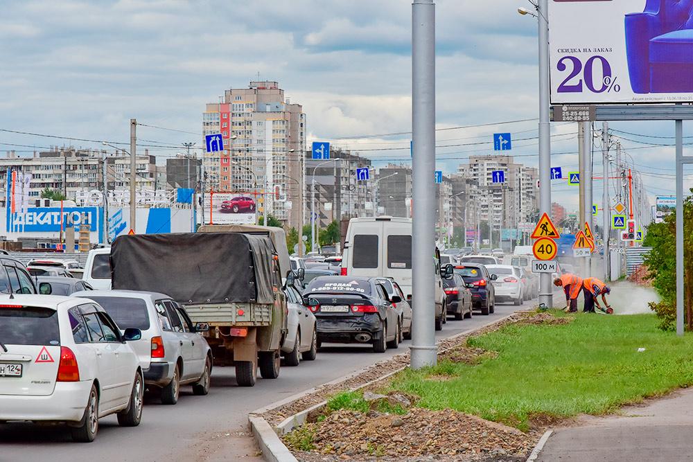 В часы пик движение в городе очень затруднено. Автор: Busurmanov / Shutterstock