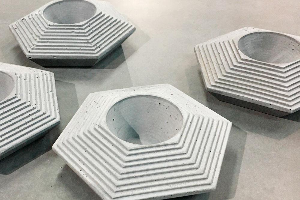 Вазон для суккулентов Ziggurat — 2500рублей