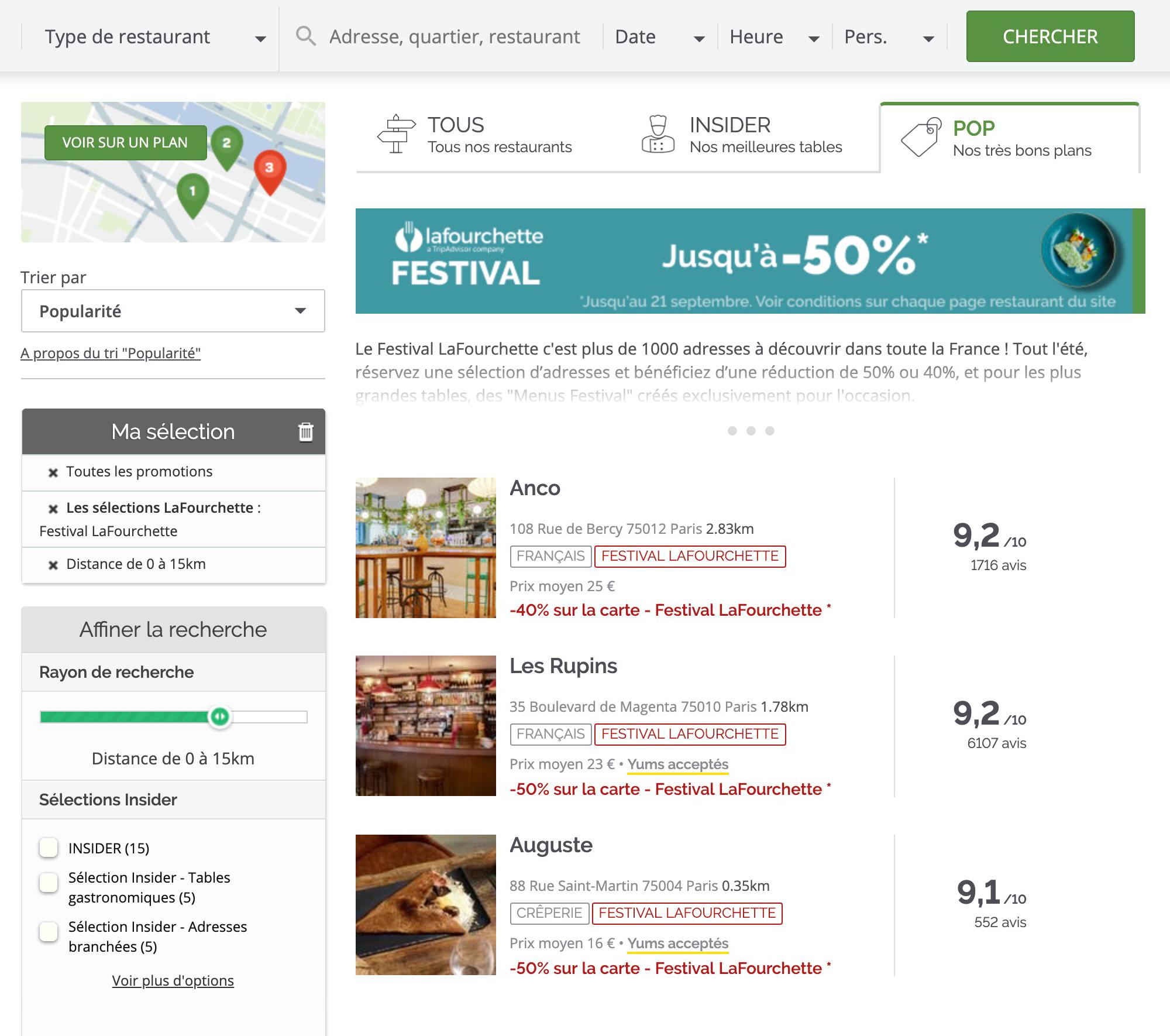 Спецпредложения на сайте «Ля{amp}amp;nbsp;Фуршетт»: скидки до 50% на все меню