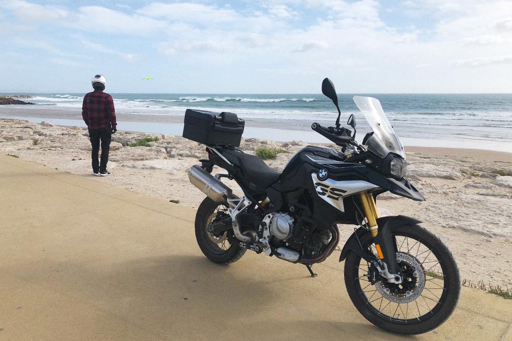 Наш мотоцикл — BMWF850GS