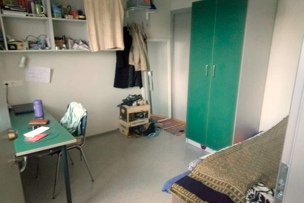 Комната на одного человека в общежитии