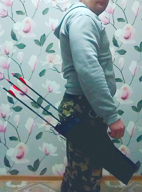«Стрелами назад» — оперение смотрит назад. Фото: Андрей Игнатьев