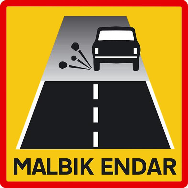Знак предупреждает о переходе асфальта в гравий. Нужно сбросить скорость до 80 км/ч