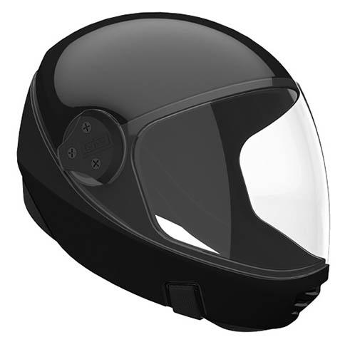 Закрытый шлем защищает лицо, но ощущения не те