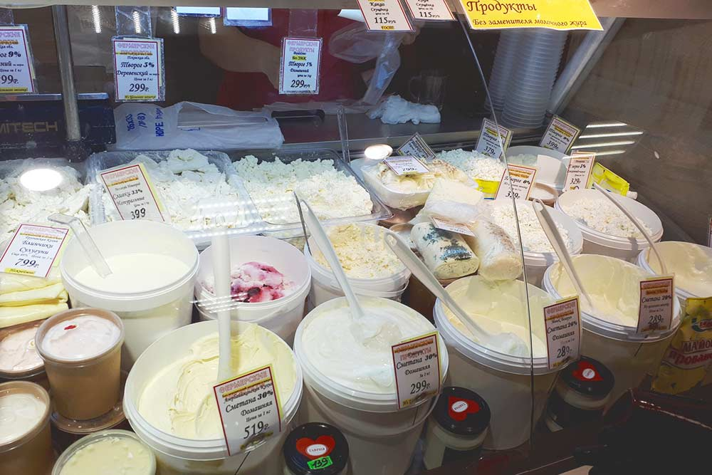 В 2019 году в «Фермерских продуктах» уже подписывали продукты без заменителя молочного жира. И все равно я выбираю в этом магазине самые дорогие варианты: они точно будут вкусные
