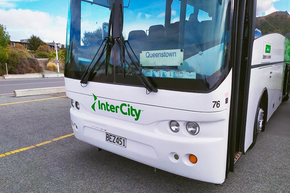 Автобус компании «Интерсити», с которой мы путешествовали чаще всего