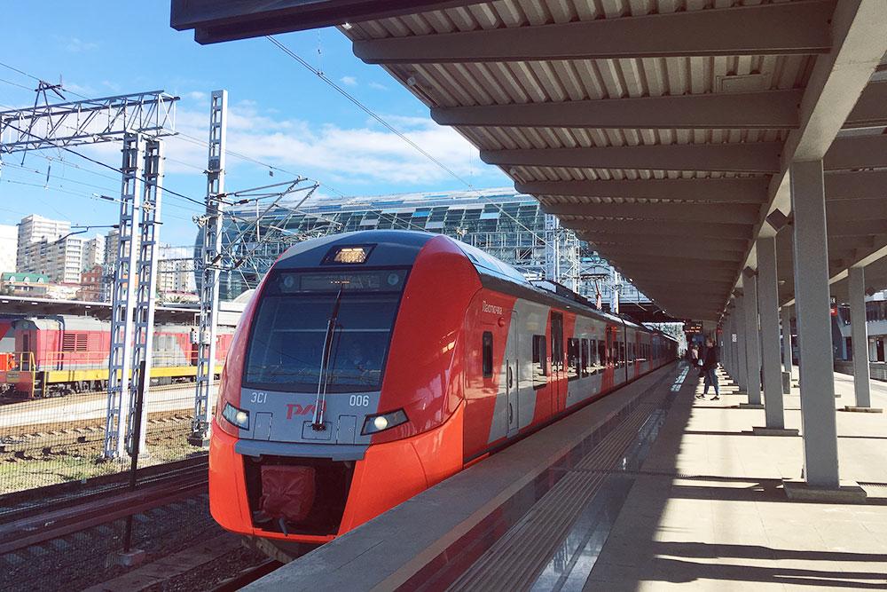 Самый быстрый и комфортный вид транспорта — электричка «Ласточка»