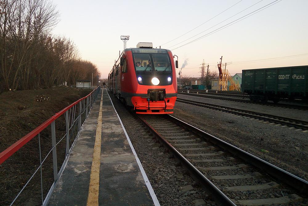 Рельсовый автобус. Фото: сайт правительства Белгородской области