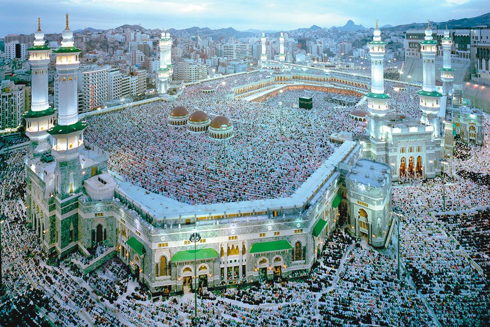 Запретная мечеть в Мекке — центр паломничества мусульман. Фото: Shutterstock