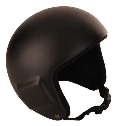 В открытом шлеме лучше чувствуешь потоки воздуха