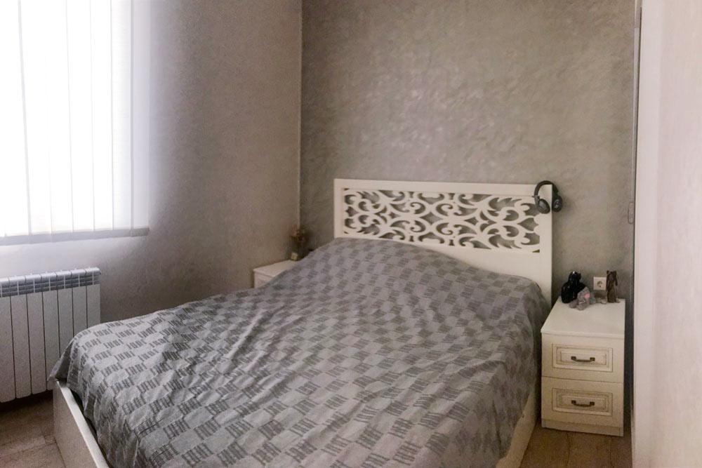Спальня тоже небольшая, но вполне уютная