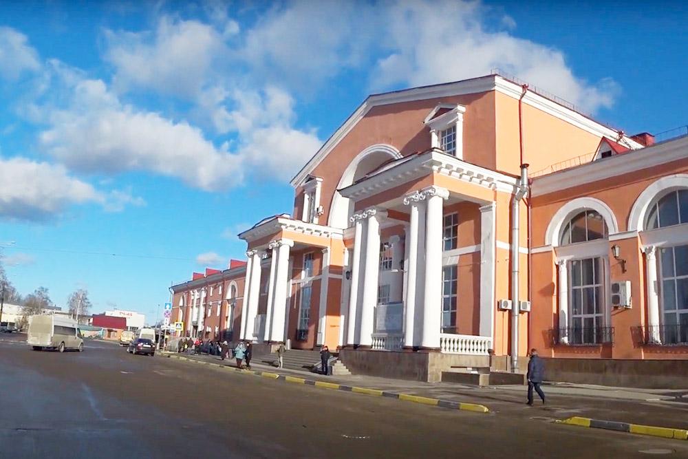 Железнодорожный вокзал «Брянск-Орловский»