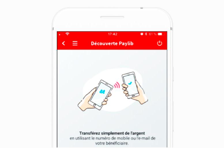 Между французскими банками деньги можно переводить по номеру телефона или по адресу электронной почты получателя