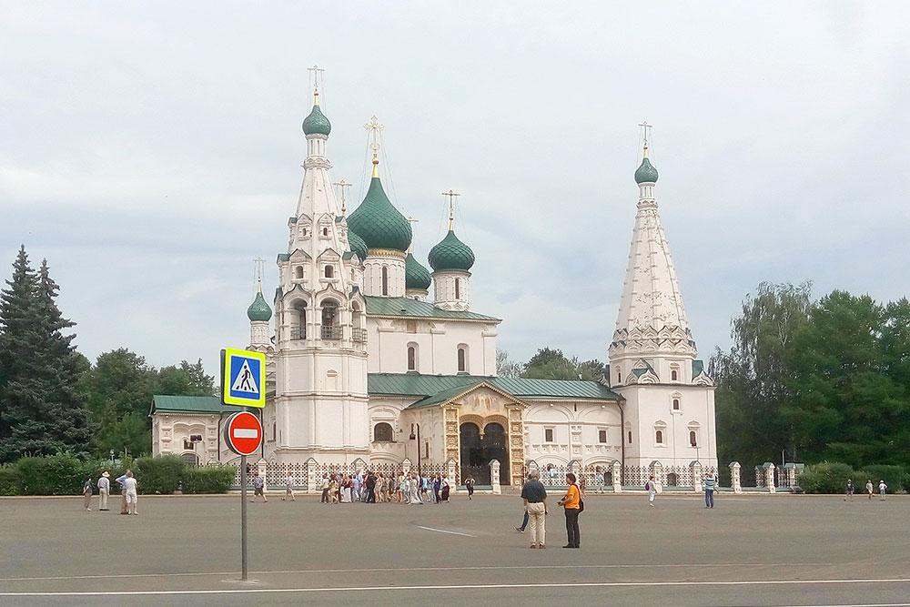 Церковь Ильи Пророка на Советской площади — самая известная в Ярославле
