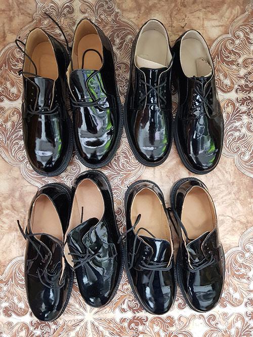 Туфли под офисную форму. Даже не знаю, что с ними делать. Военные называют их лабутенами