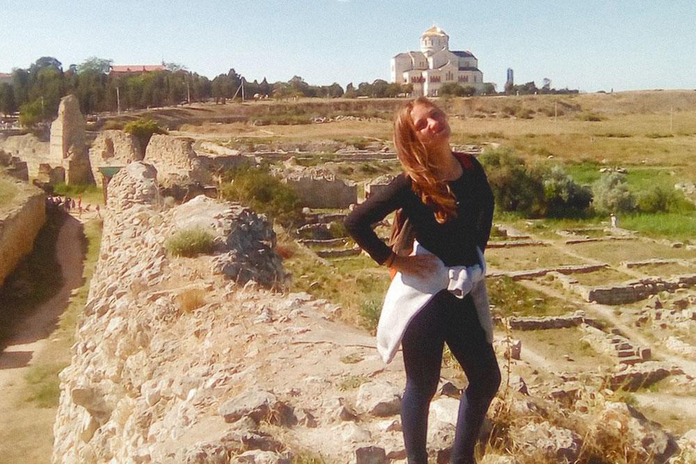 В выходной я посмотрела руины херсонесской крепости