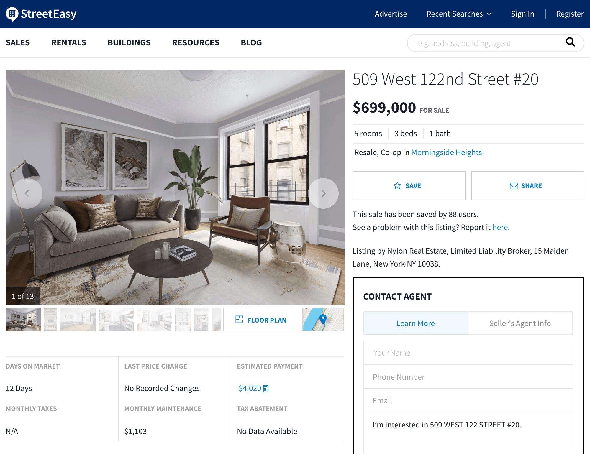 В Нью-Йорке востребована профессия риал-эстейт-фотографа: то, что вы видите на превью, не более чем широкоугольный объектив и тотальная ретушь. В квартирах на Манхэттене мало света, часто вид из окна — это стена вплотную стоящего рядом здания или окно соседа, о жизни которого знаешь больше, чем о своей