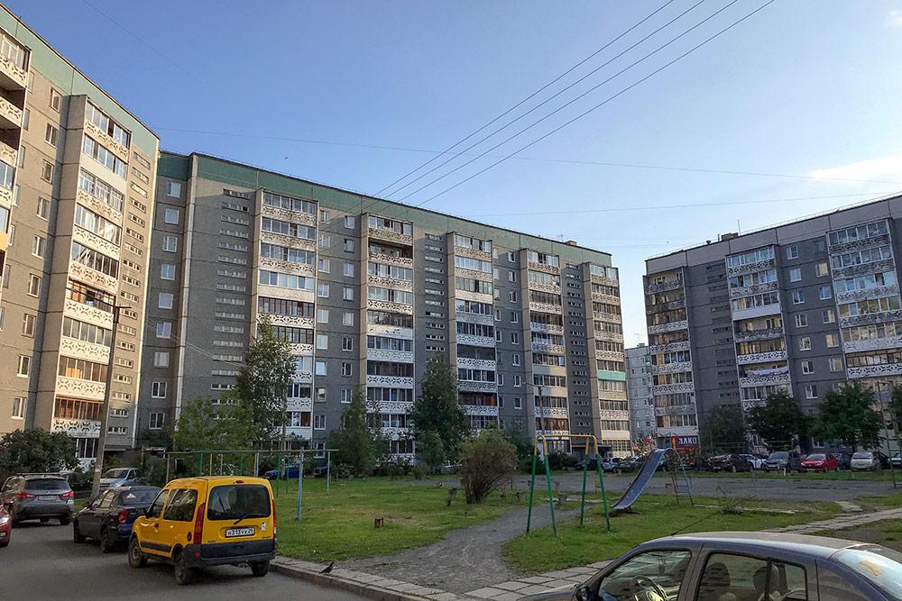 Почти весь спальный район Древлянка состоит из таких домов