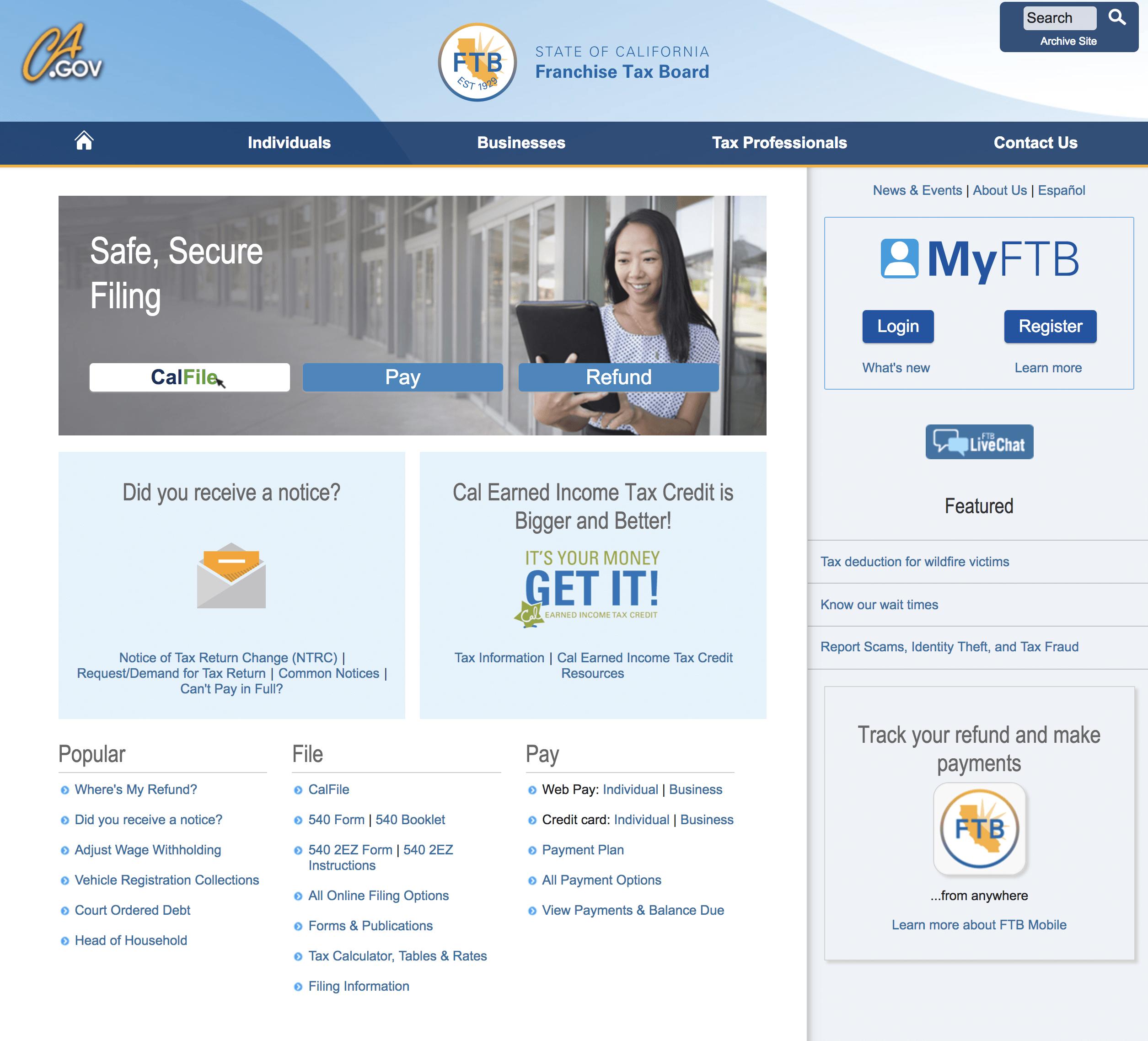 Государственный сайт, где можно посчитать, сколько вы должны уплатить налога и какой можете получить налоговый вычет