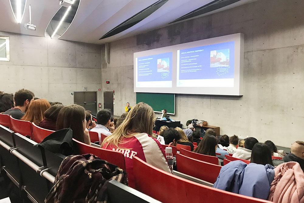 Организационная встреча со студентами по обмену