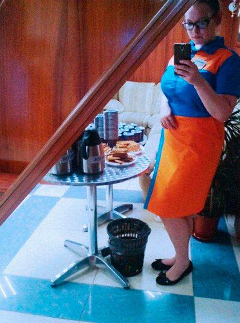 Это ужин: рубашка и юбка