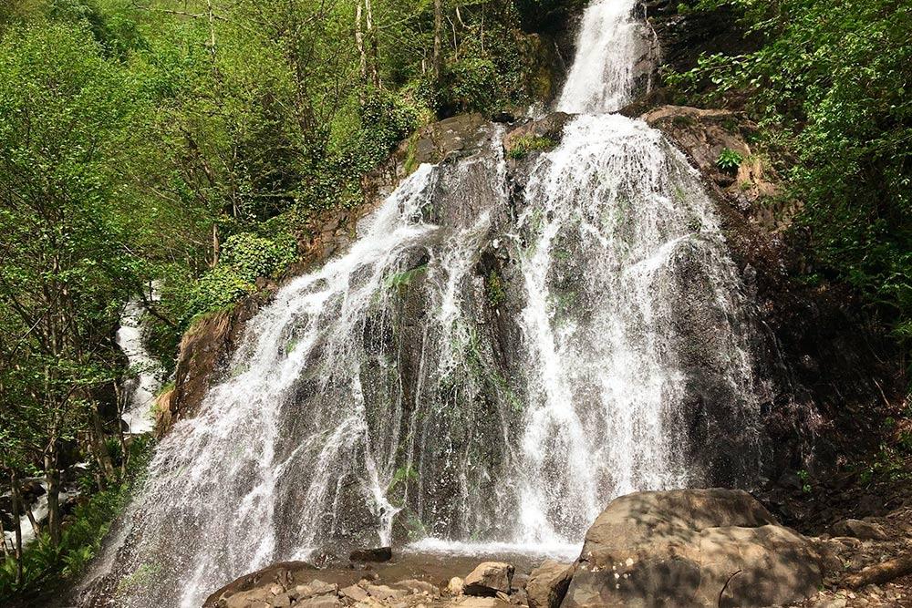 Прогулялись к водопаду