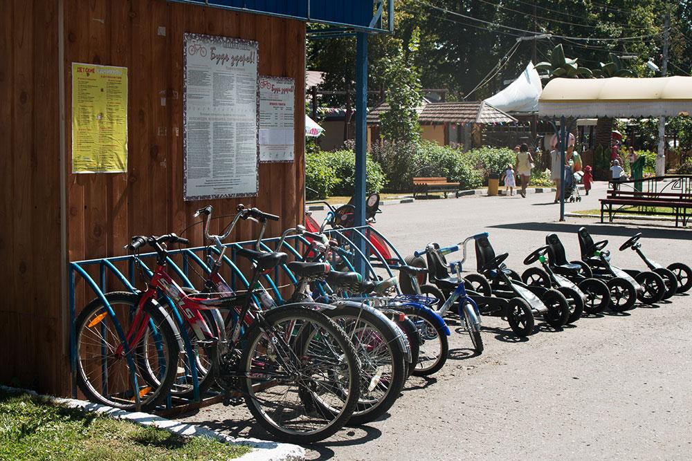 Велопрокат в центральном парке — 150 р. в час