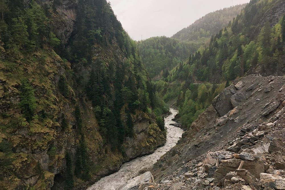 Виды по дороге в Сванетии