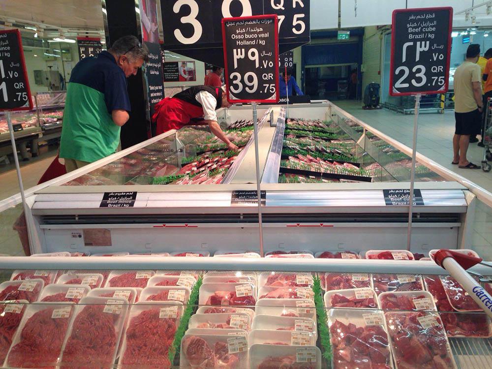 Мясо чаще всего продается уже расфасованным, а не куском