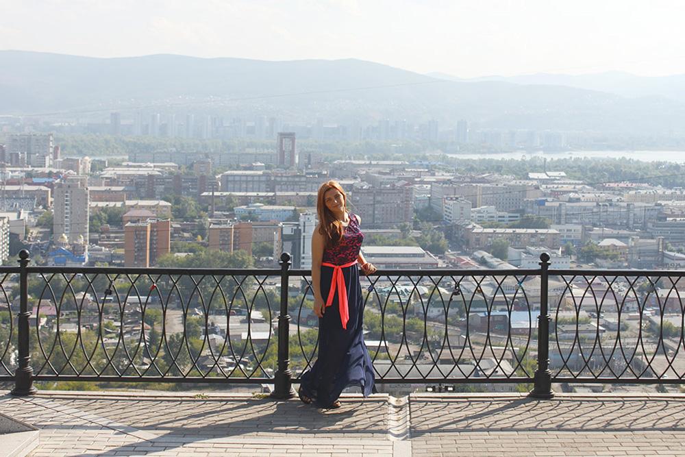 Вид на город с площадки у часовни Параскевы Пятницы