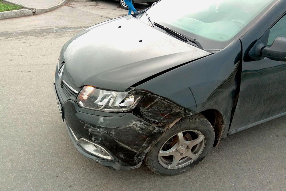 Состояние моего автомобиля после ДТП