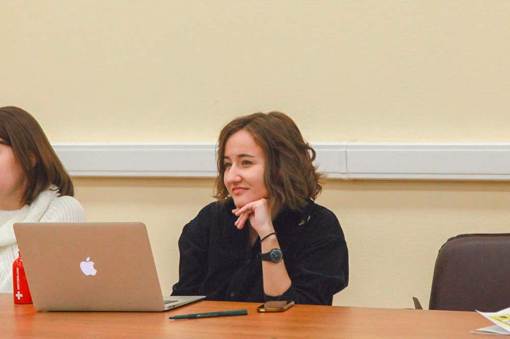 Это я на одной из конференций для молодых ученых-филологов, организованной Тартуским университетом