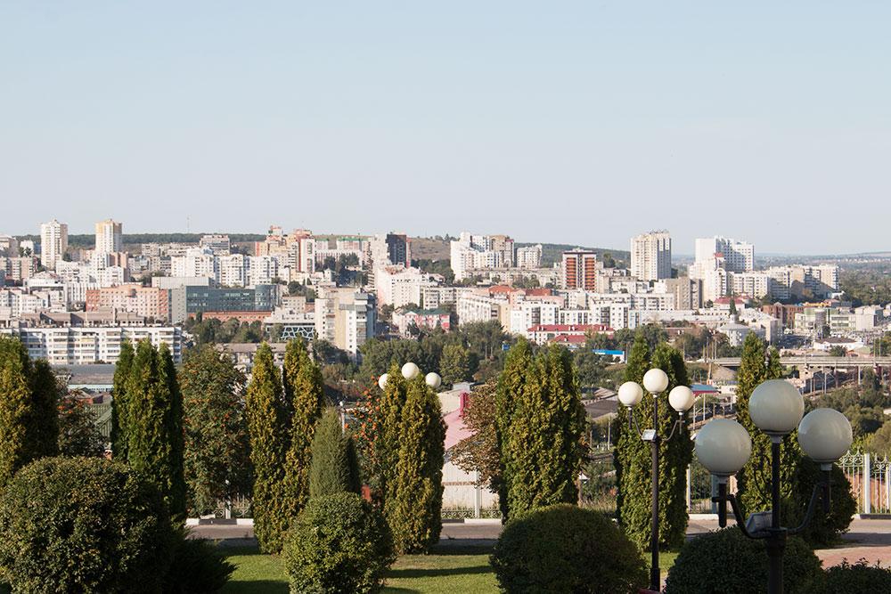 Панорама Белгорода. Я живу тут уже 17 лет