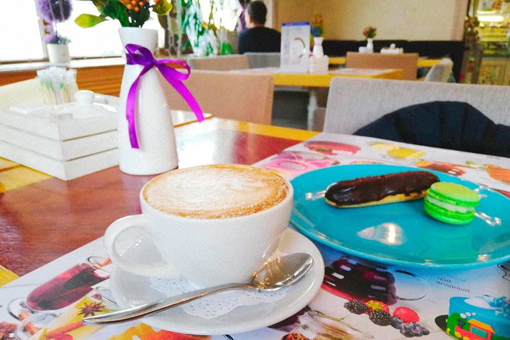 Кофе с десертом — 315<span class=ruble>Р</span>