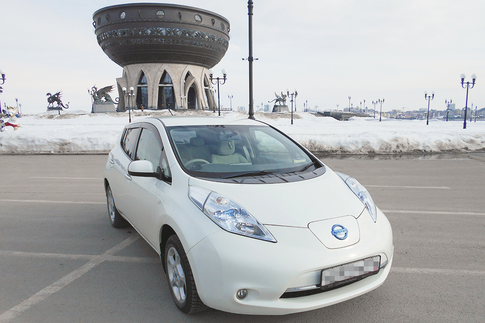 Мой электромобиль из Японии — Ниссан Лиф 2011&nbsp;года выпуска. Я купила его за 450 000<span class=ruble>Р</span>