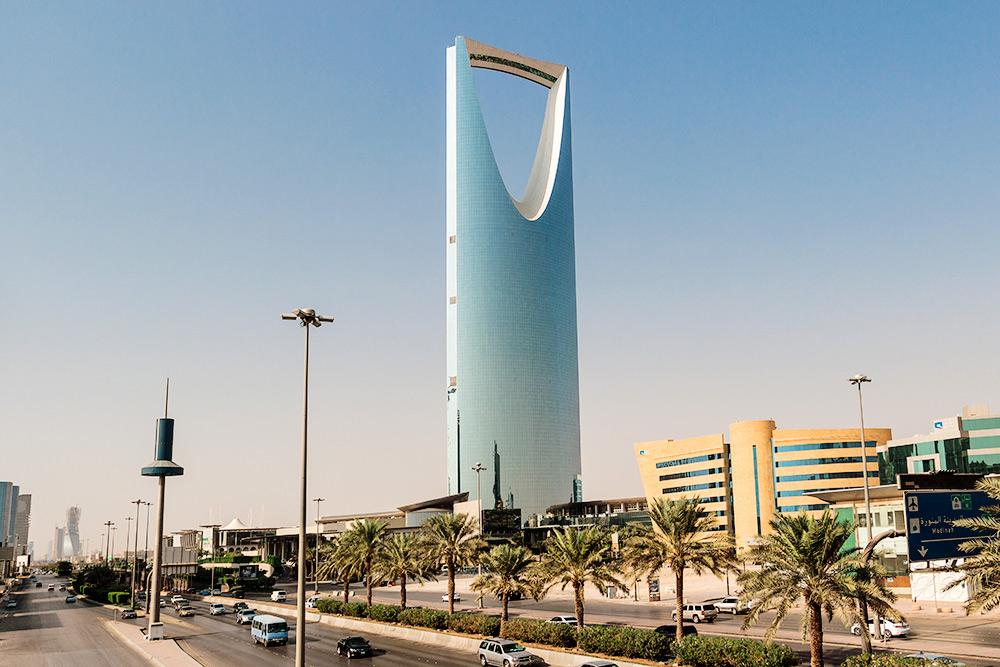99-этажный небоскреб «Бурдж Аль-Мамляка» — символ Эр-Рияда