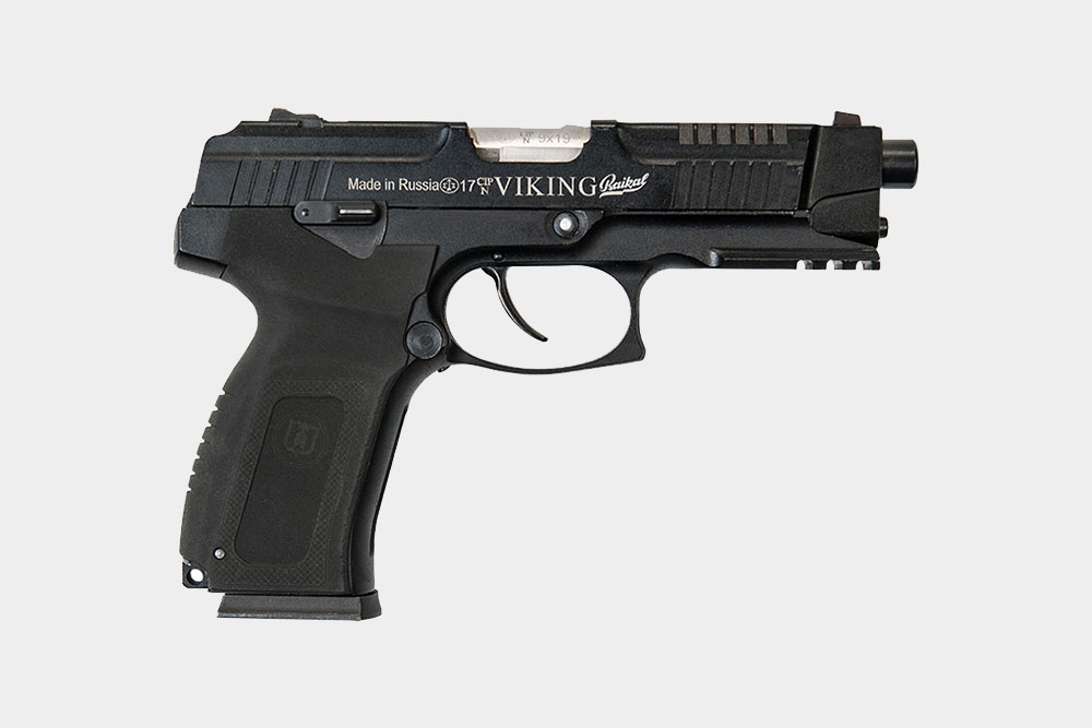 Российский спортивный пистолет «MP-446 Викинг» стоит 70 тысяч
