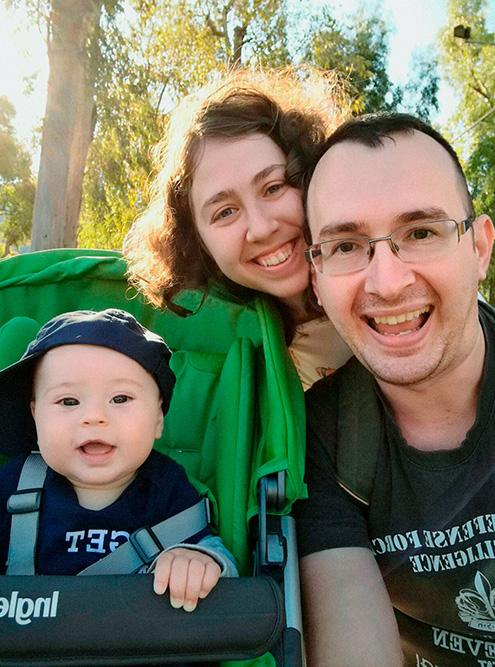 Мы переехали в Израиль вдвоем с женой, но сейчас нас уже трое