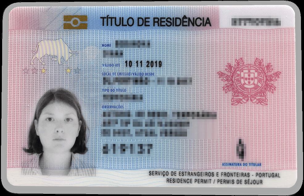 Мой вид на жительство в Португалии — «резиденция». По ней у меня есть право работать в стране