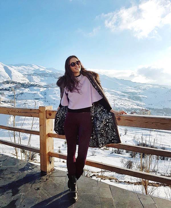 Знакомые удивляются, когда я рассказываю, что в Ливане зимой в горах лежит снег