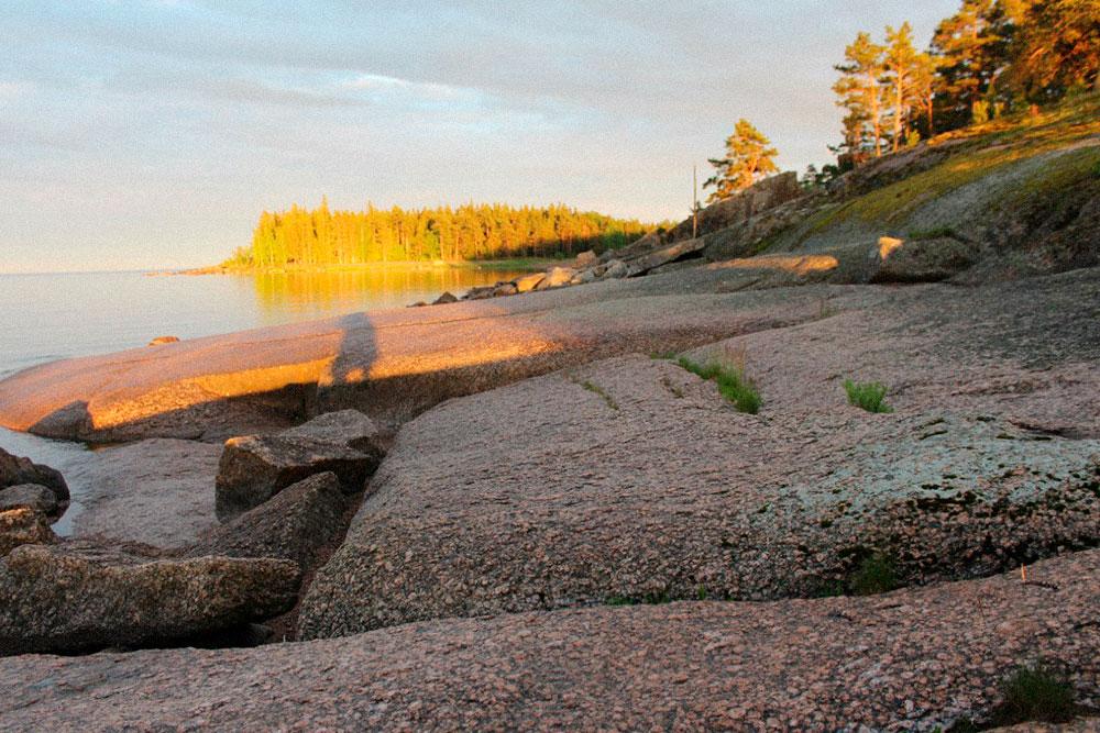 В побережье Финского залива я влюбилась еще в детстве