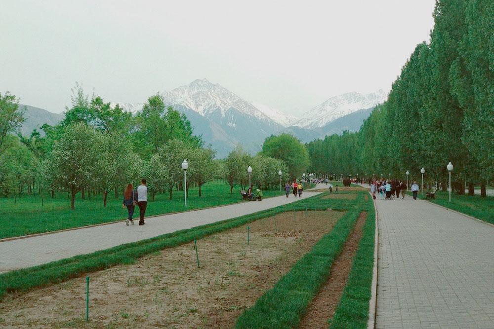 Парк Первого президента в Алма-Ате