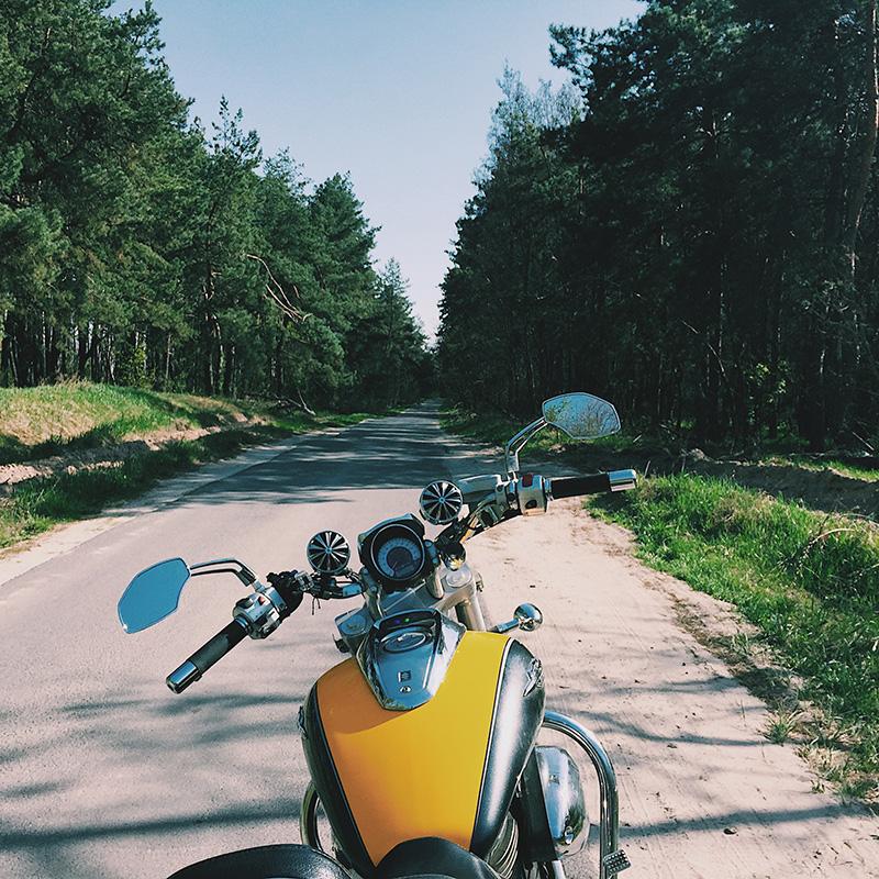 За три месяца на мотоцикле я нашел больше интересных мест, чем за шесть лет на машине